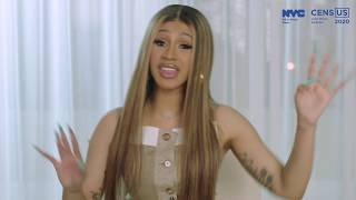 An Important NYC Census 2020 Message from Cardi B.