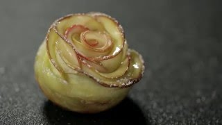 Simply Apple  How to - Rose Apple Tart Recipe with Apple Juice