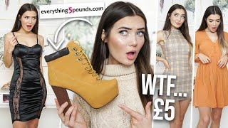 Trying £5 Clothing From Everything5Pounds.com... Is It a Scam!?