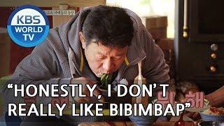"Eungsoo ""Honestly, I don't really like bibimbap"" LOL [Uncles Gathering Greens/ 2018.05.23]"