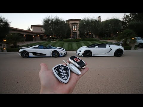 Somehow I ended up in the Koenigsegg Agera RS1…