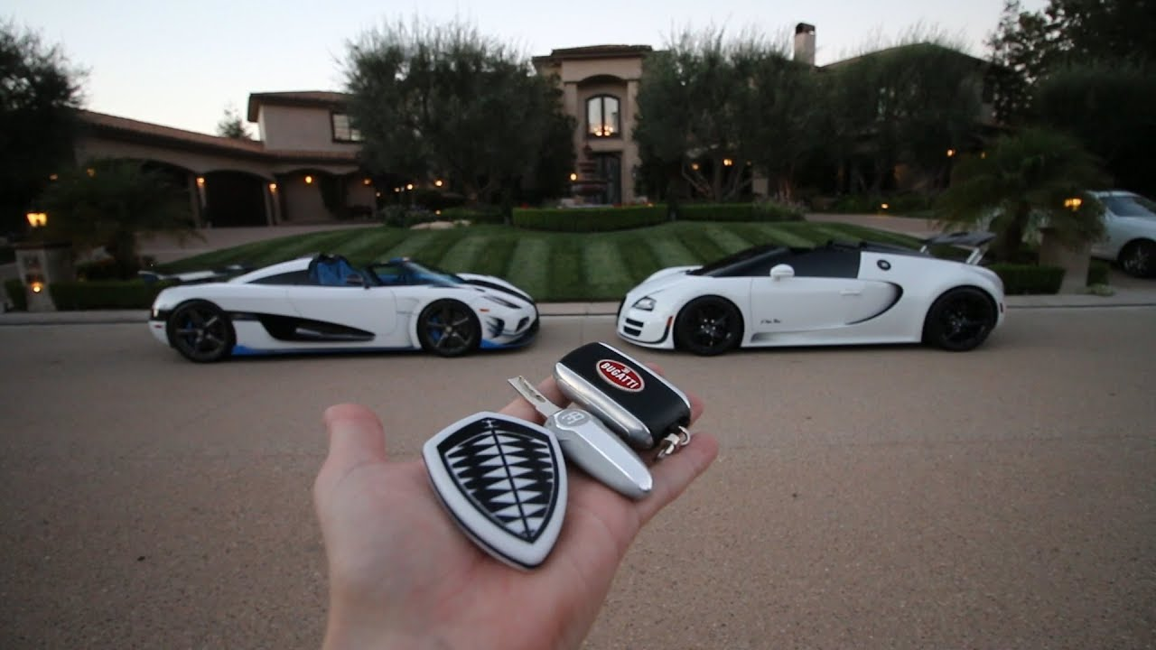 Somehow I ended up in the Koenigsegg Agera RS1...