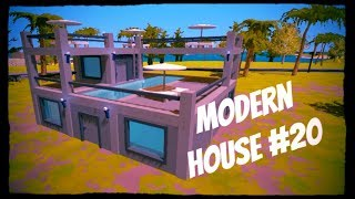 Unturned Tutorial | Modern House #20 (The biggest house!)