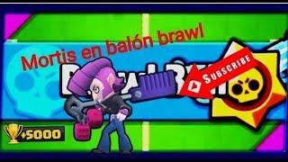 MORTIS Y EL BALON BRAWL