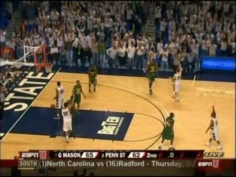 Talor Battle Buzzerbeater vs. George Mason - 1st Rnd NIT 3/17/2009
