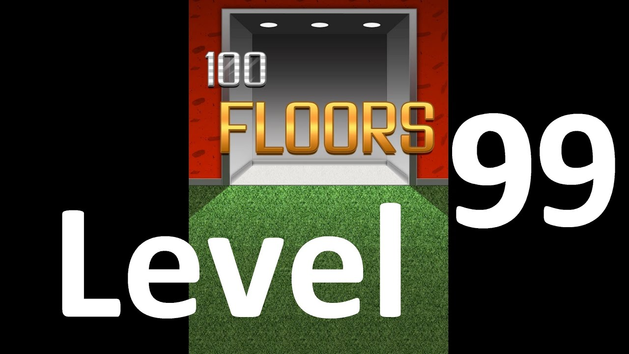 100 Floors Level 99 Floor 99 Solution Walkthrough Youtube