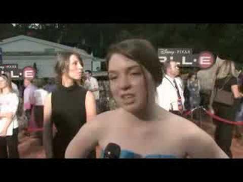 Jennifer Stone - Interview at The Wall-E Premiere