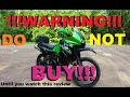 DONT BUY A KLR650!!! Until You See This KLR 650 Review!