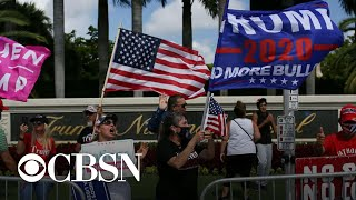 President Trump and Joe Biden battle for Latino support