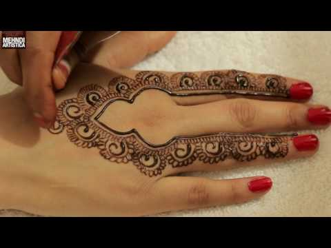 Design For Mehndi For Teen Agers 23