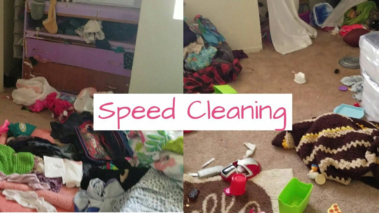 Motivational Cleaning Messy Kids Room/ Speed Cleaning/ Clean With  me/Realistic Cleaning