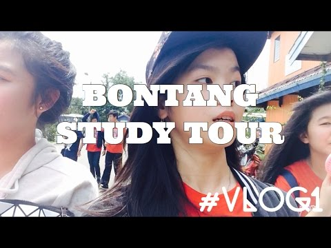 BONTANG STUDY TOUR #VLOG1 | Melissa Hersiana