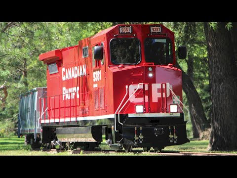 CP Mini Train - PotashCorp Playland - Saskatoon, SK - 2016.07.28