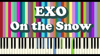 Download EXO - 발자국(On the Snow) piano cover MP3 song and Music Video