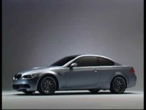 2007 BMW M3 Concept E92 promotional video - YouTube