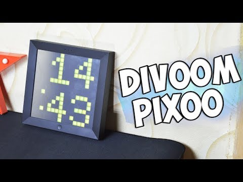 Обзор Умной LED-Рамки Divoom Pixoo +Конкурс без репостов