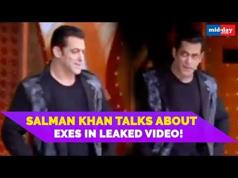 Salman Khan Talks About Exes In Leaked Video! | Nach Baliye 9 Mp3