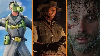ANOTHER Fortnite Cheater SUED + Red Dead 2 Takes Up 2 Discs? + Walking Dead Ratings At All-Time Low