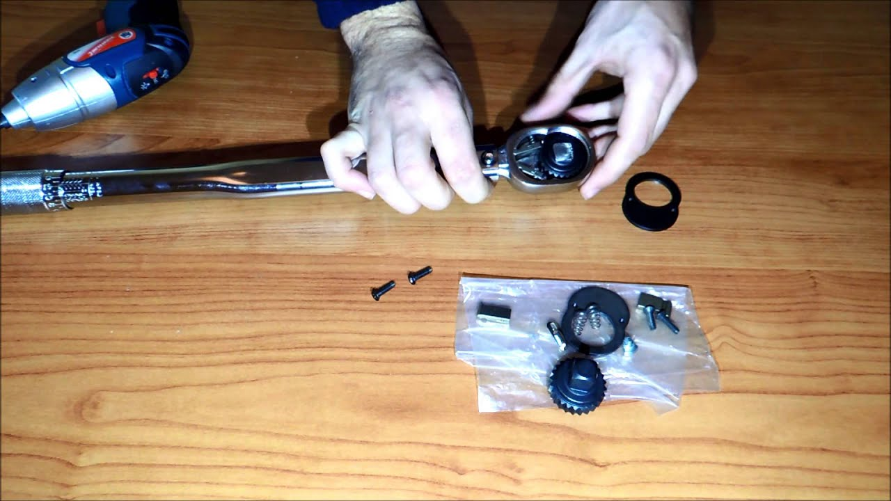 C mo reparar una llave de carraca o trinquete youtube for Como desarmar una llave de ducha