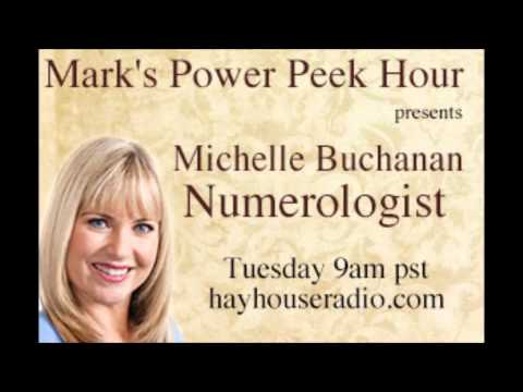 Michelle Buchanan on Mark Husson's 'Power Peek Hour' Hay House Radio March 2014