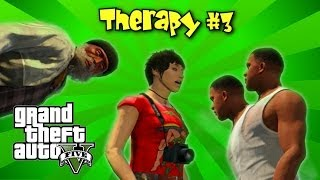 GTA V - Therapy #3 - Pedestrian Quotes - Funny Moments