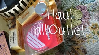 Haul all'Outlet di Serravalle Scrivia feat. Saracosmesi
