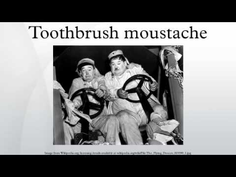toothbrush moustache youtube