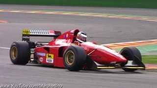 Ferrari F1 V6 vs V12 PURE Sounds!