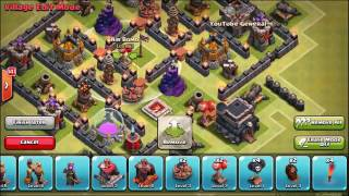 Clash Of Clans 'ULTIMATE TH7 MAZE BASE!' TROLL TRAP BASE DESIGN 2015360p