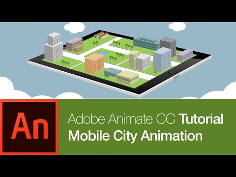 Animate CC Tutorial: Mobile City (FREE DOWNLOAD)