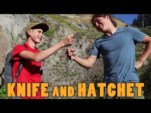 WILDsides: How To Safely Pass A Knife And Hatchet