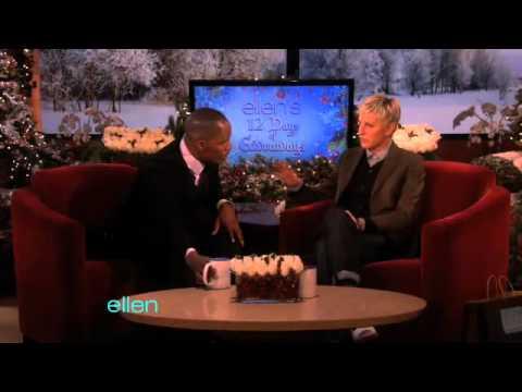 Ellen Celebrates Jamie Foxx's Birthday!