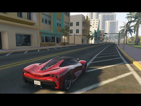 GTA VICE CITY IN GTA 5 MAP MOD!