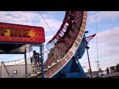Ohio Fair ... fast ride Brett & Brayden