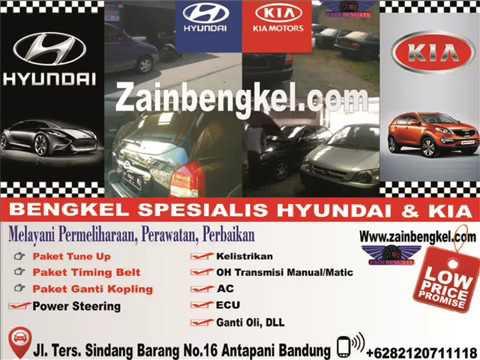 Ahlinya Sevice Hyundai Kia Bandung - www zainbengkel com