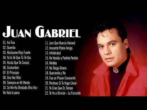 VIEJITAS CANCIONES BALADAS ROMANTICAS DE JUAN GABRIEL - SUS EXITOS LO MEJOR DEL JUAN GABRIEL