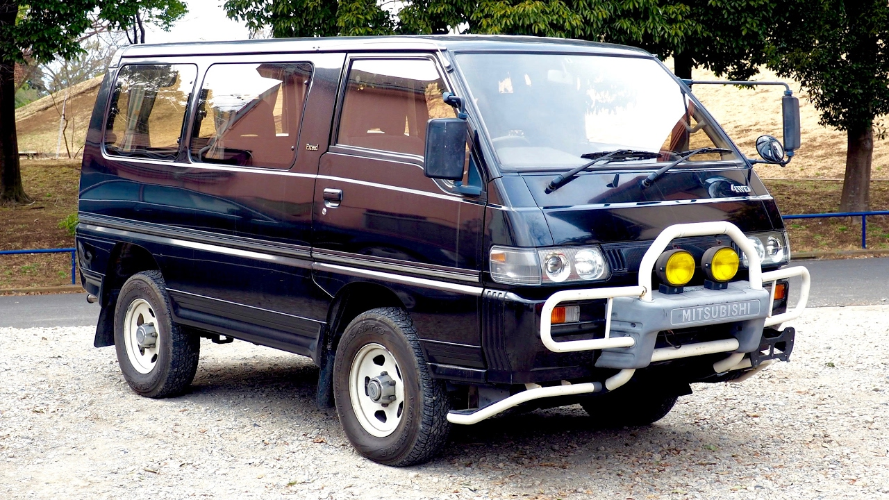 3c030c3f8c 1991 Mitsubishi Delica Turbo Diesel 4WD (USA Import) Japan Auction ...