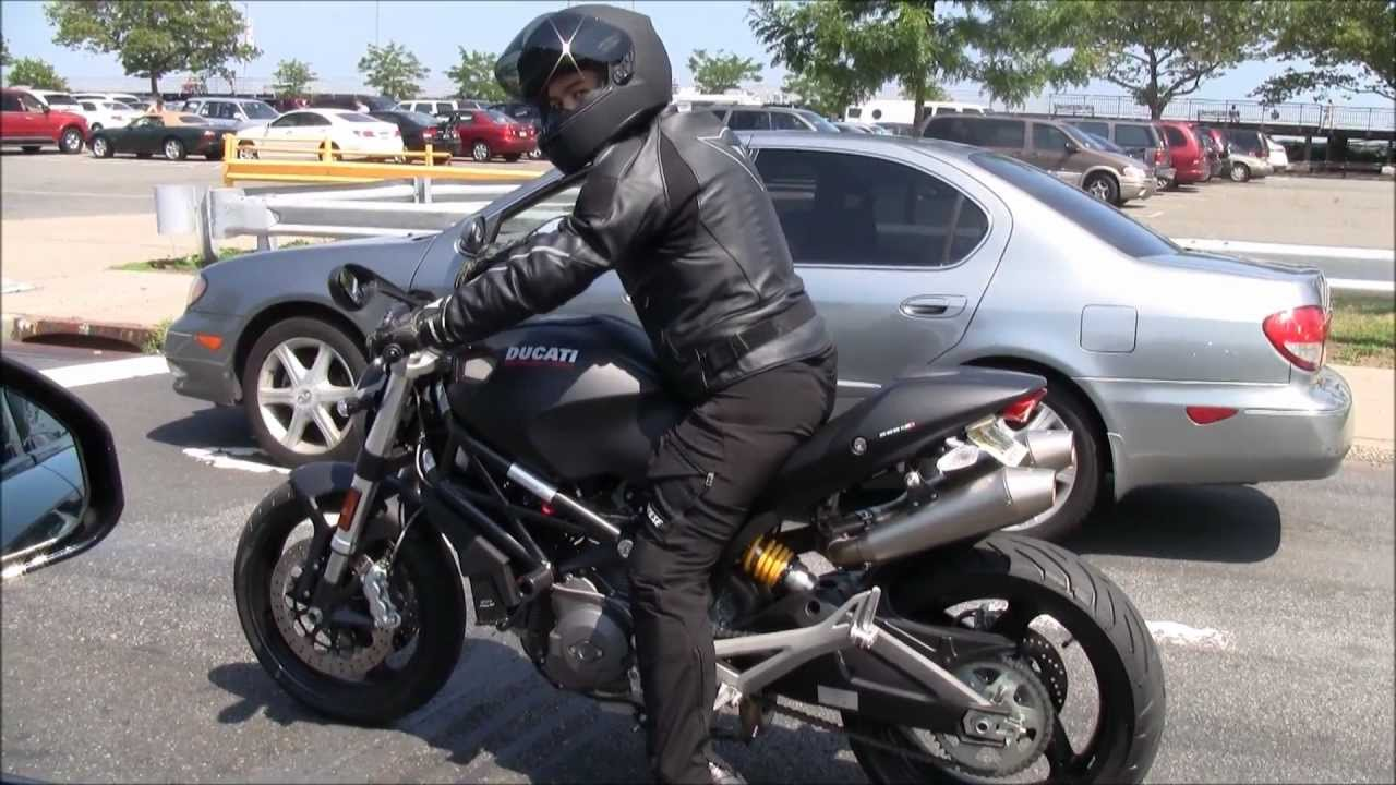 Ducati Monster   Leo Vince Exhaust