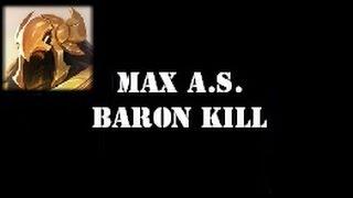 Azir - 2.5 Max Attack Speed & Baron Solo