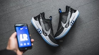 "Nike Adapt BB ""Black / Pure Platinum"": Review & On-Feet"