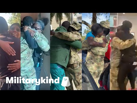 Soldier pulls off 5 amazing homecoming surprises | Militarykind