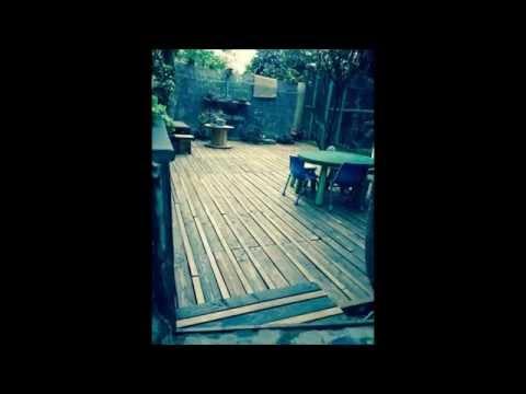 Muebles con palets piso de terraza furniture with - Muebles para terrazas ...