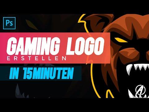 Gaming logo erstellen in nur 15min | Photoshop Tutorial