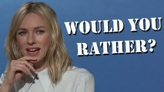 Allegiant Cast Play Would You Rather