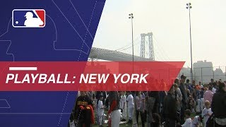 Play Ball starts five-borough tour in New York City