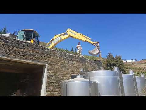 Preparação de cubas para as vindimas - Ervedosa do Douro