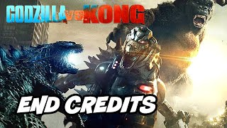 Godzilla vs Kong Ending - Post Credit Scene Explained and Mechagodzilla Breakdown