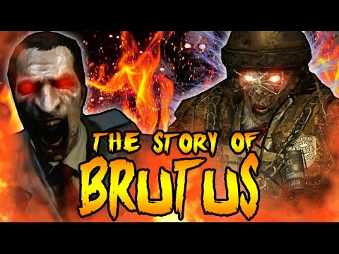 The Story of BRUTUS! STANLEY FERGUSON TRAPPED IN HELL! Call of Duty Black Ops 2 Zombies Storyline