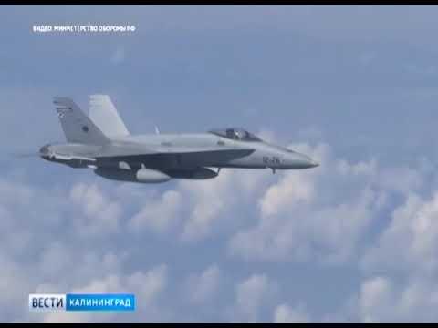 Российский Су 27 оттеснил истребитель НАТО от самолёта Шойгу над Балтийским морем