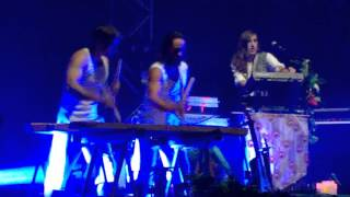 Crystal Fighters - Intro + Solar System @ BIME 2015 Festival in Basque Country